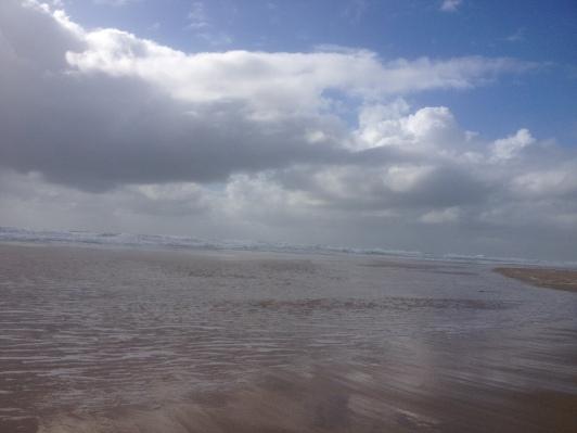 On the beach early 021