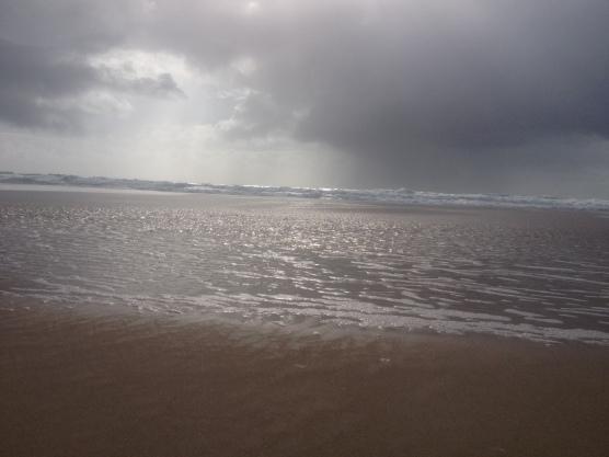 On the beach 022