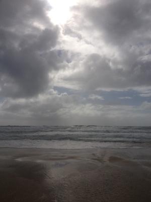 On the beach 038