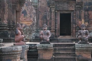 Hanuman at Banteay Srei