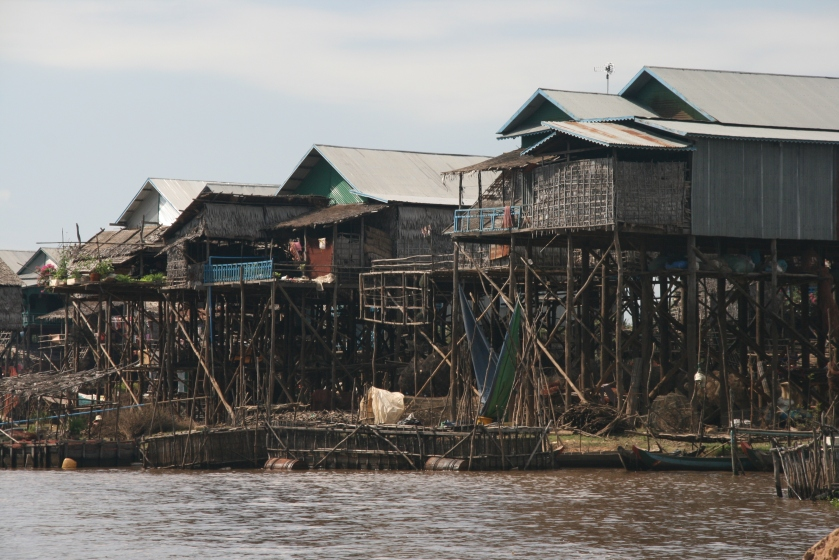 Lake Tonle Sap on Stilts