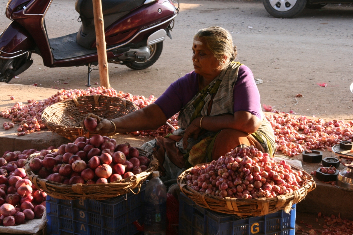 A Madurai morning – market magic
