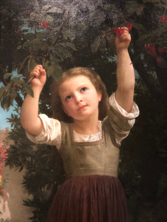 The Cherry Picker, Bouguereau 1871