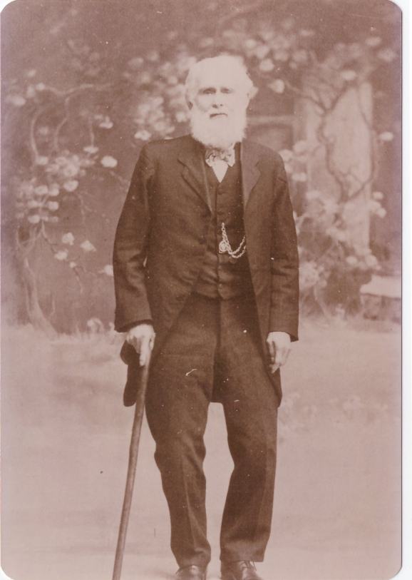 Gold Miner Ancestor Grannys Side George Parkinson